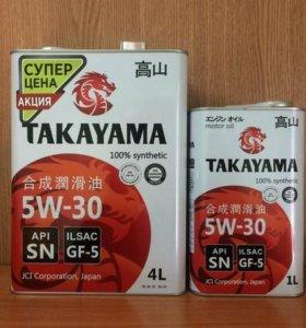 Масло моторное TAKAYAMA 5W-30