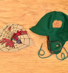 Детские шапки 52 размер на 2 года