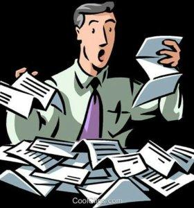 Услуги при получении и и оформления документов!