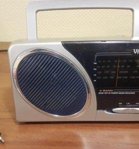 Современный радиоприемник vitek vt-3581