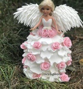 Цветочная фея-светильник