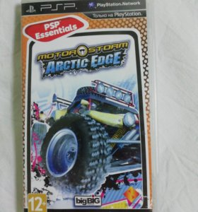 MOTORSTORM ARCTIC EDGE. диск для PSP
