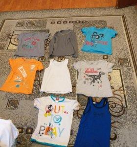 Одежда пакетом 98-110 см