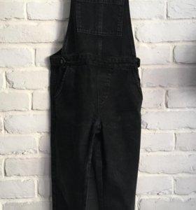 джинсовый комбинезон topshop