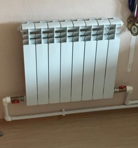 Замена батарей,монтаж систем отопления!