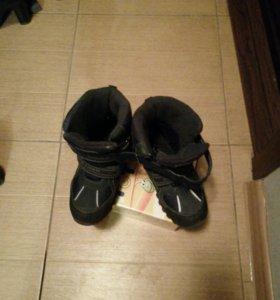 Ботинки зимние 22,5 см стелька.