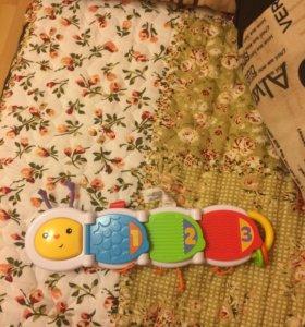 Развивающая игрушка Fisher Price Mattel Гусеница