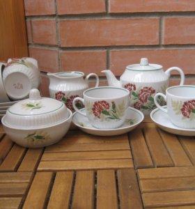 Новый Чайный сервиз СССР 70-е г. 15 предметов