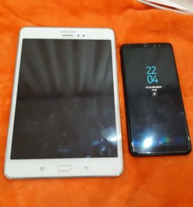 Samsung A8+ и Samsung tab A Обмен!