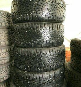 Зимние шипованные шины R 17