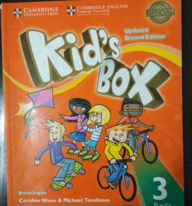 Учебник по английскому языку Kid's box 3