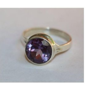 Кольцо александрит серебро 925