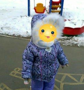 Зимний костюм 98р