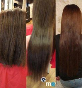 Восточное наращивание волос(плетение)
