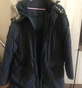 Куртка зимняя вмф б/у