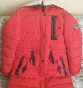 Куртка парка теплая