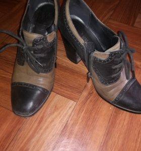 Обувь осенняя, нат.кожа, 37 размер