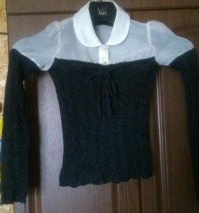 Блузка на девочку рост 122
