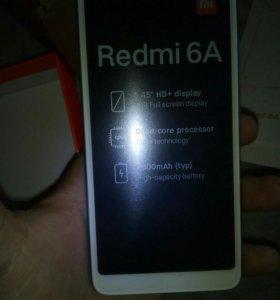 Совершенно новый Xiaomi Redmi 6A