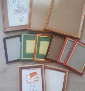 Рамочки для фото 11 штук