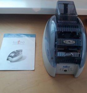 Карт-принтер Evolis Tattoo Принтер пластиковых кар