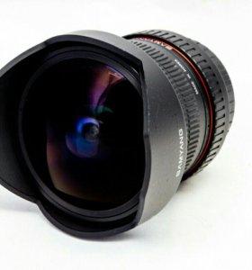 Samyang 8 mm f3.5 UMC fisheye csii