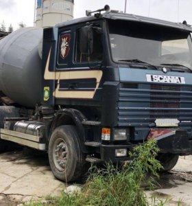 Автобетоносмеситель Scania (Скания) 142.
