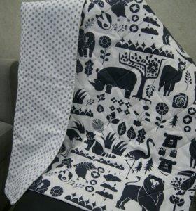 Одеяло, плед, покрывало, коврик, конверт на выписк