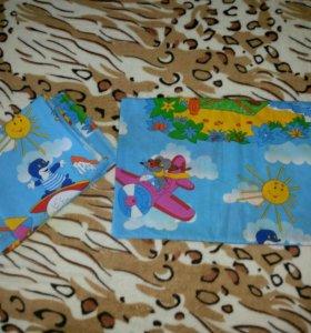 Бортики +Комплект постельного белья