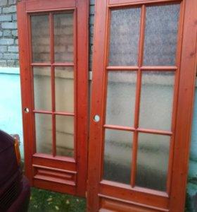 Двери межкомнатные 80х198 б/у