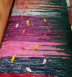 Накидки 1.на кухонный диванчик,45х110 см.2.На стул