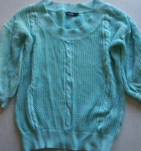 Джемпер ковта свитер вязаный
