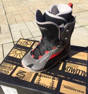 Ботинки для сноуборда + крепления