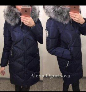 Очень тёплое зимнее пальто куртка