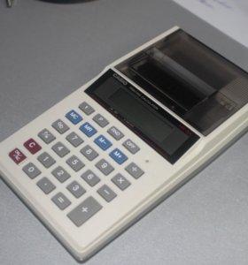 Принтер-калькулятор.Новый(с лентой кассовой)