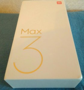 Xiaomi Mi Max 3 GLOBAL black 4/64