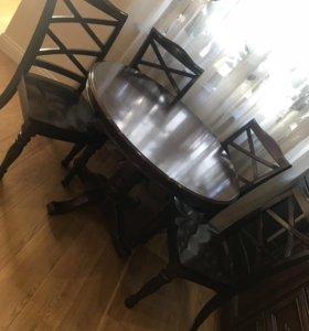 Стол+5 стульев