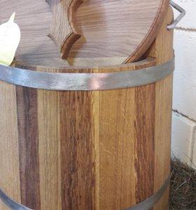 Ведра дубовые для засолки и квашения