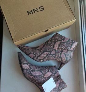 Ботиночки Манго на 40 размер