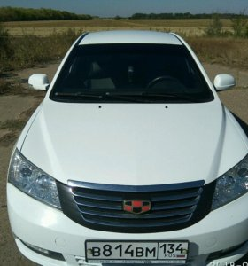Geely Emgrand EC7, 2014