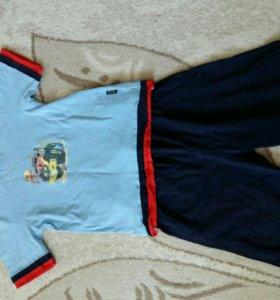 Футболка с шортами 3-5лет