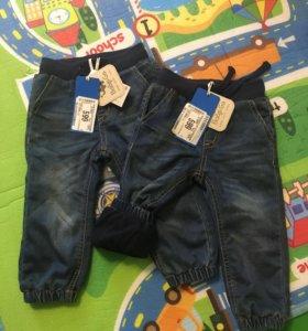 Джинсы для малышей Новые джинсы детские штаны