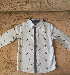 Новая рубашка на рост 116-122 см