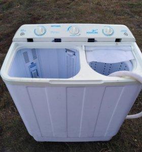 Продаю стиральную машину без крышек а так работает