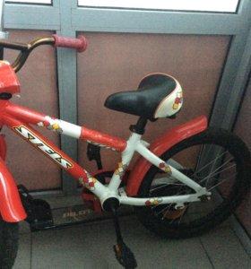 Велосипед СТЕЛС пилот детский