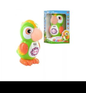 Развивающая игрушка- попугай.