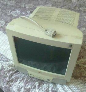 Монитор ч/б