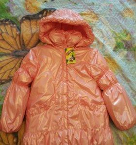 Новая куртка для девочки ( осень - зима)