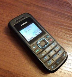 Nokia 1208 1сим фонарик