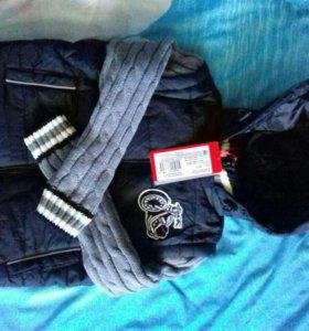 Утепленная куртка новая